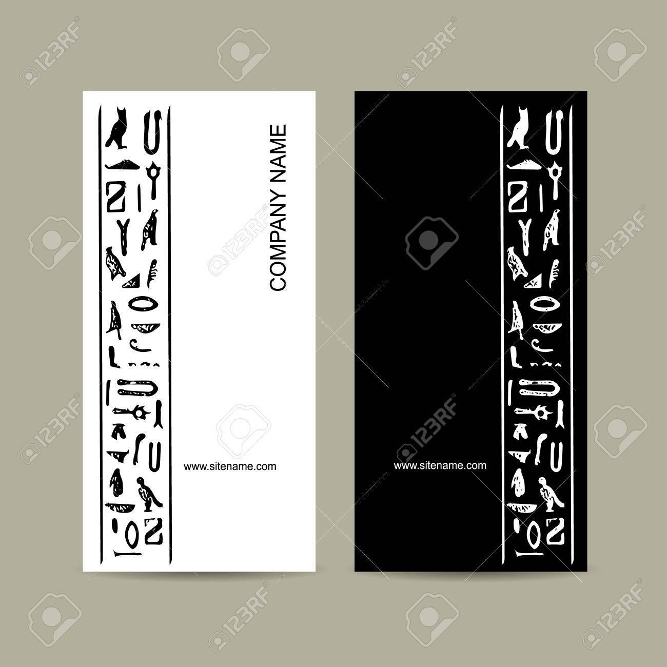 Cartes De Visite Design Vector Illustration Banque Dimages