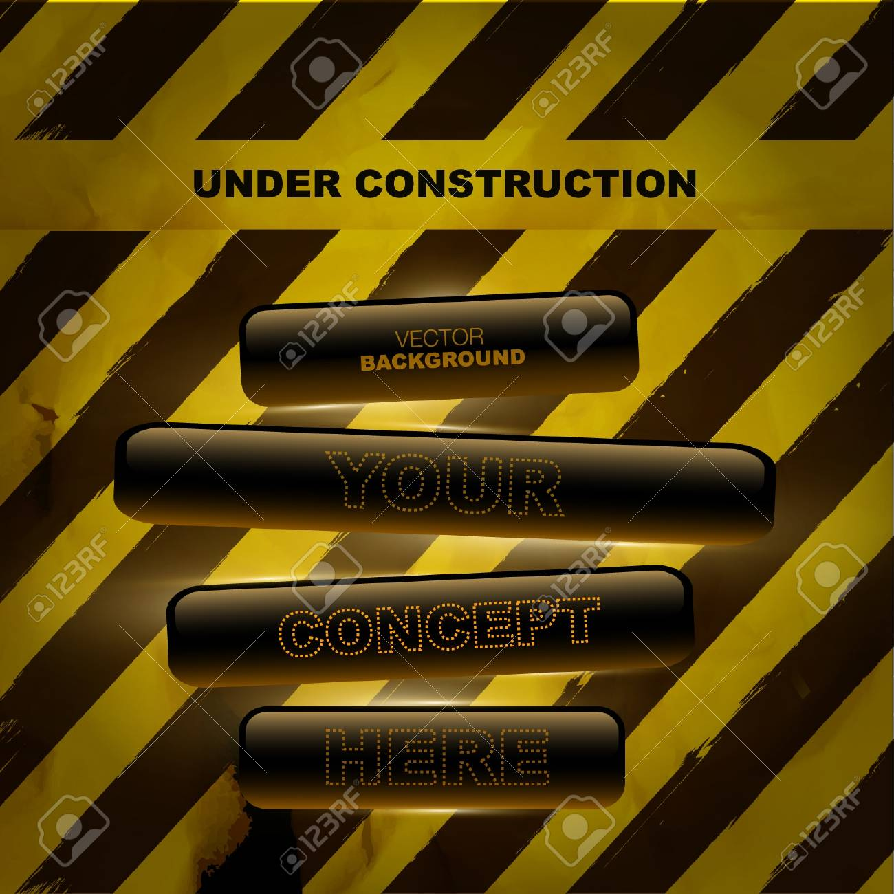 under construction background Stock Vector - 18296821