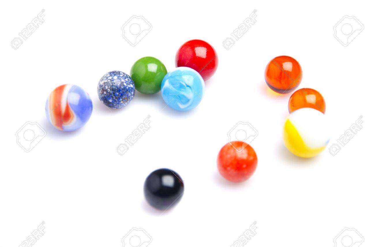 colorful glass balls Stock Photo - 21412258
