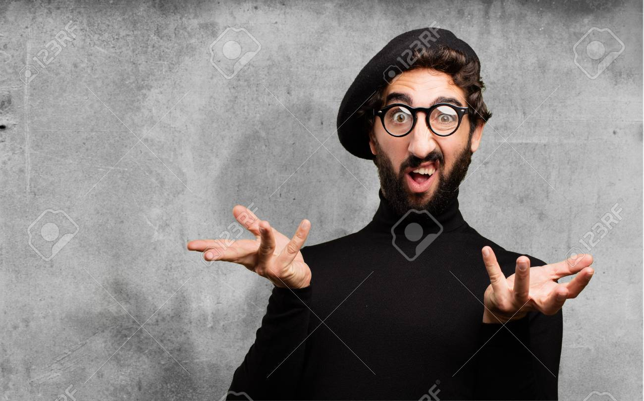 Image result for confused artist stock photo