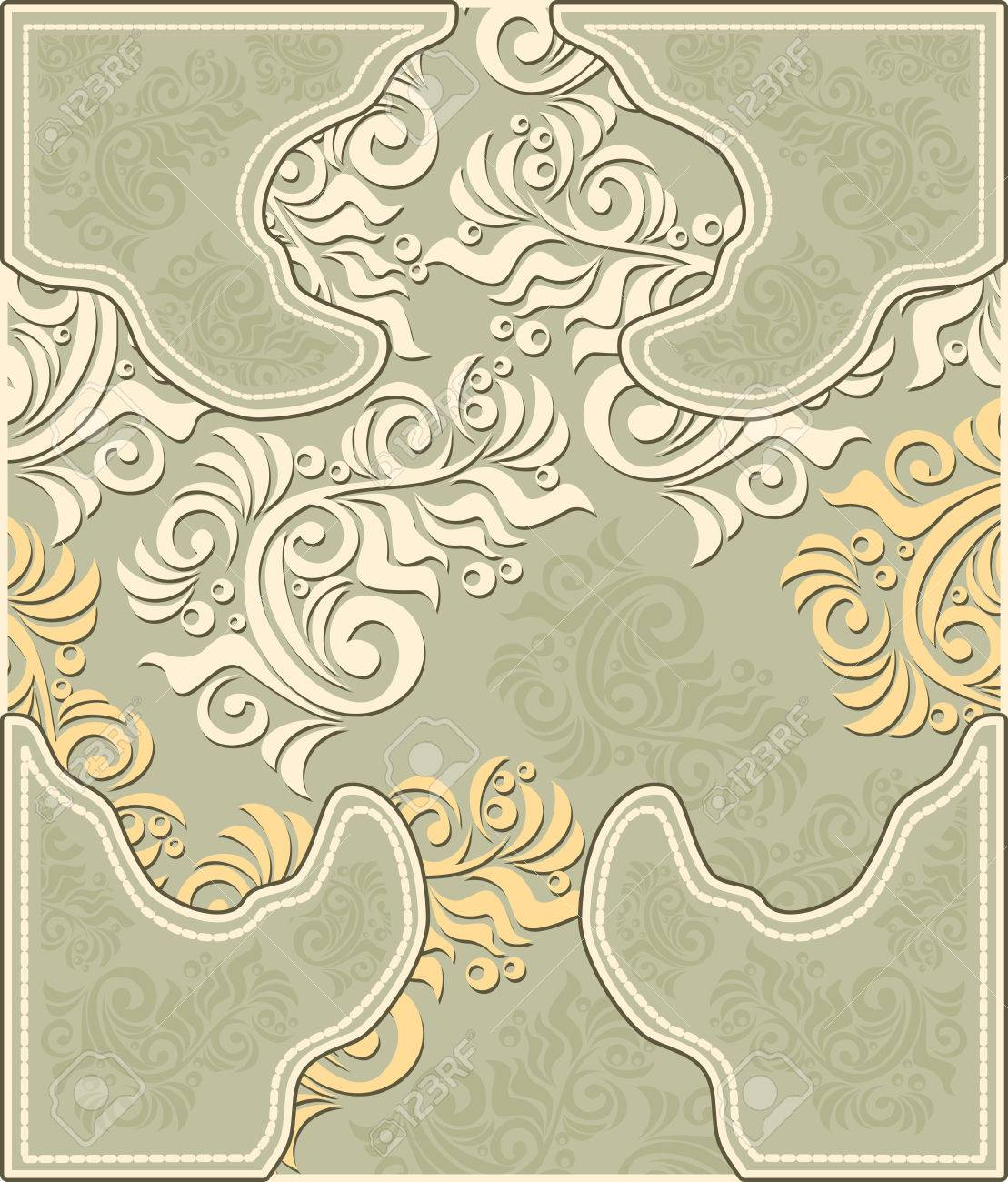 Decorative floral background in pastel colors Stock Vector - 23212711