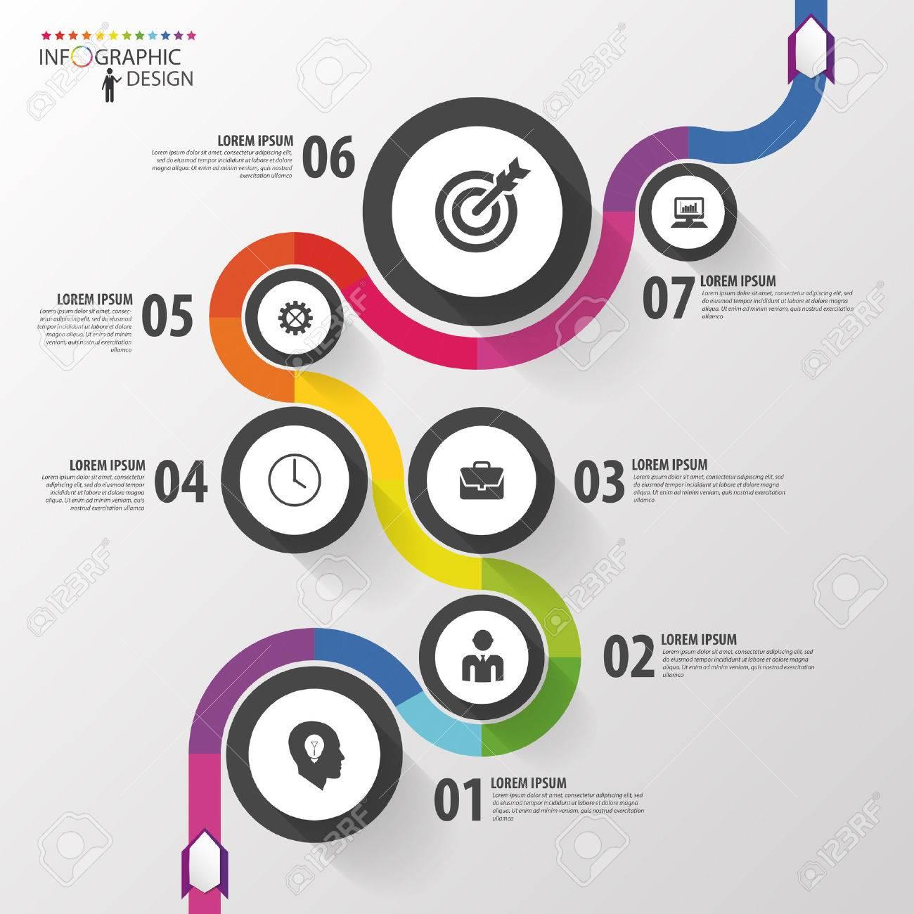 path infographic