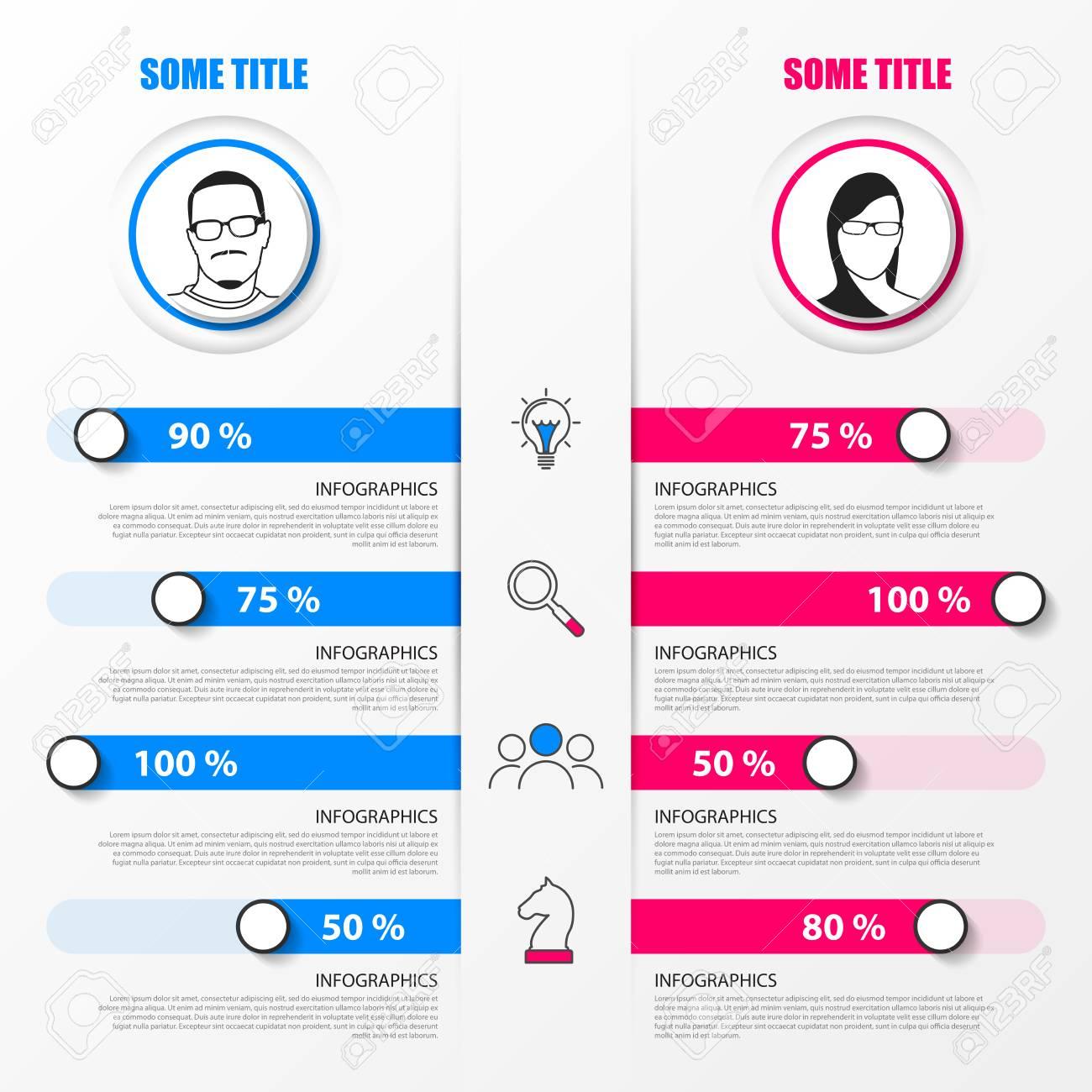 Organization Chart Infographic Design Template Vector Illustration