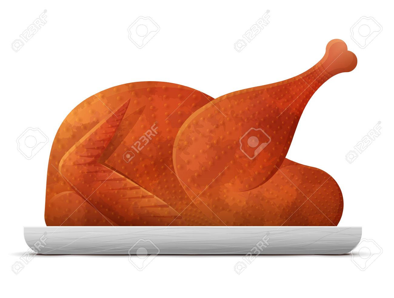cooked roast turkey chicken isolated on white background christmas rh 123rf com christmas clipart without white background how to insert clipart without white background