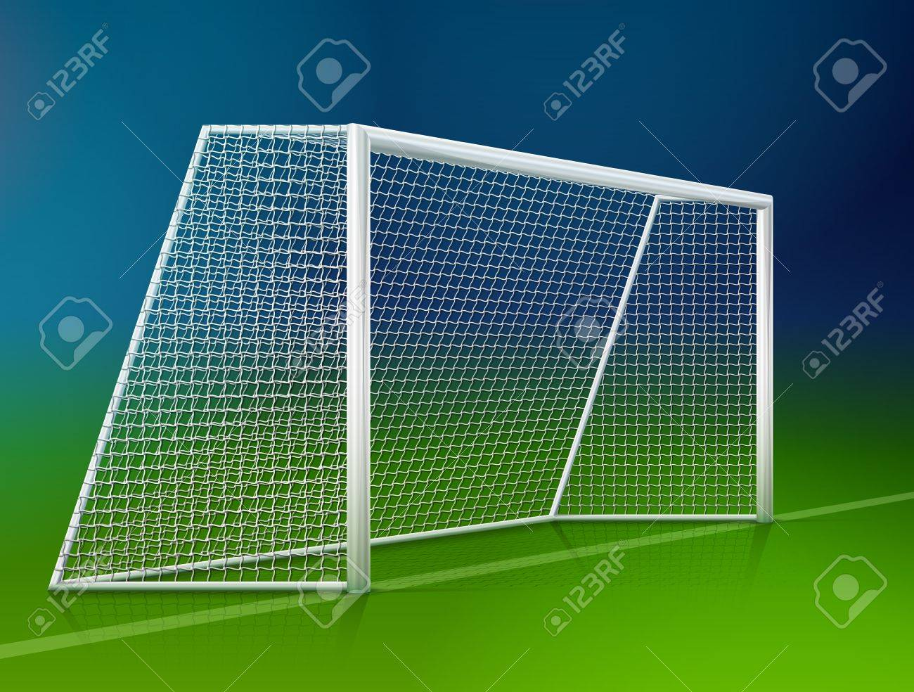 Soccer Goal Post With Net 2c9ea2afa30b