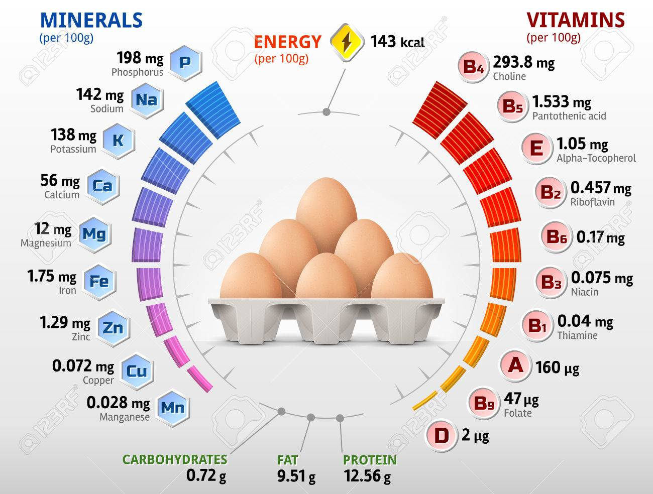Image result for egg nutrients