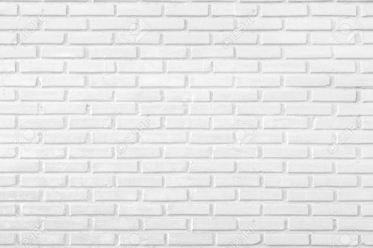 Bon Banque Du0027images   Résumé Mur De Briques Blanc Comme Arrière Plan