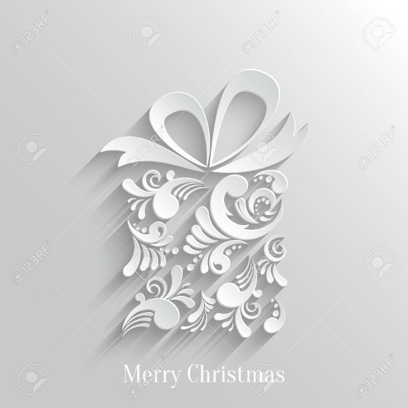 absrtact floral christmas gift background trendy design template absrtact floral christmas gift background trendy design template stock vector 24253657