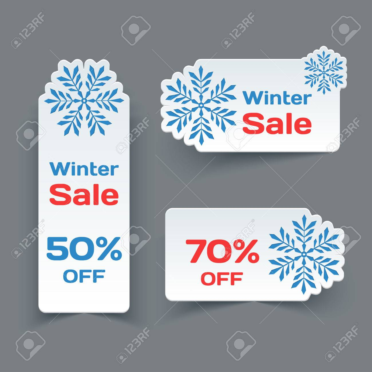 Winter Sale Banners E Commerce Banners