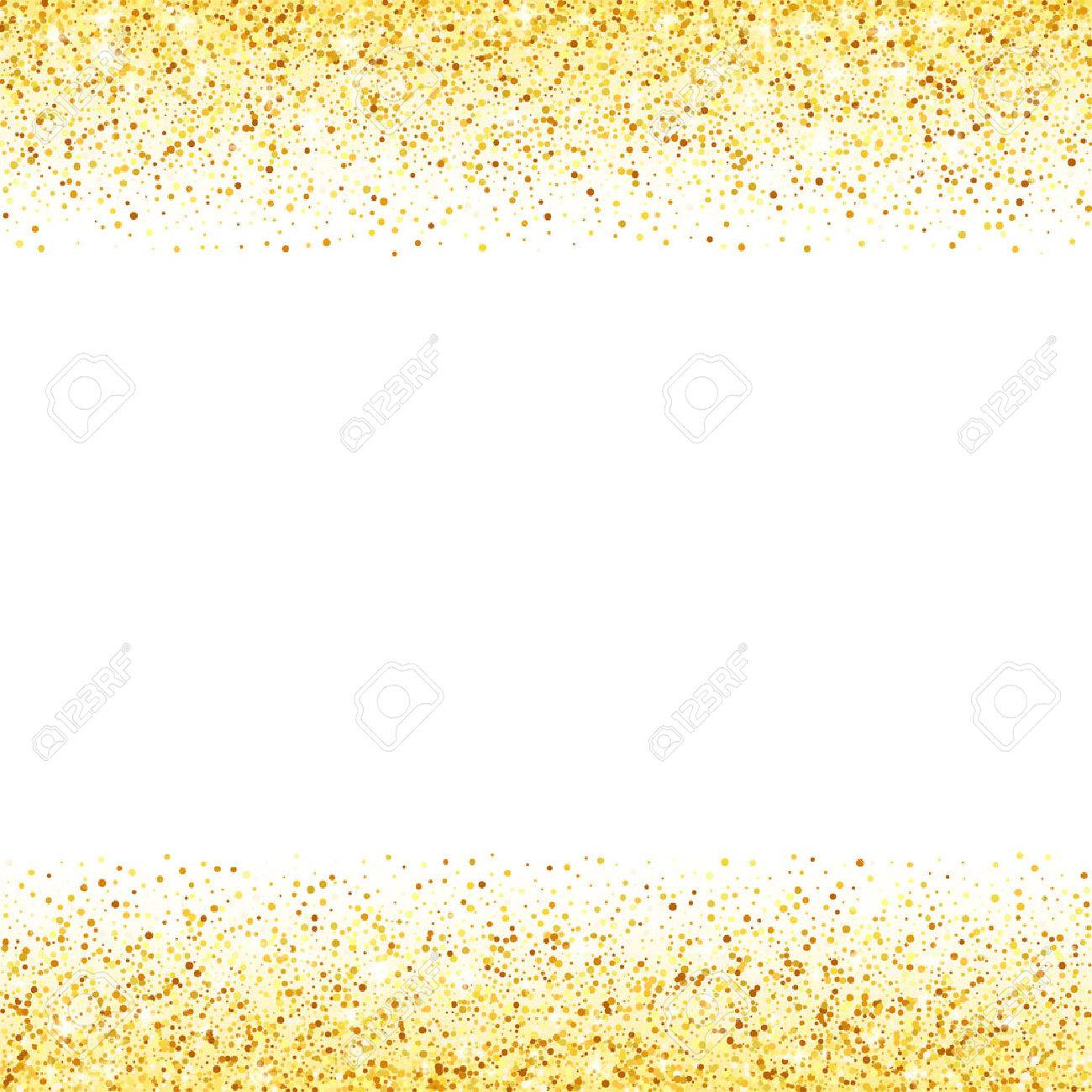 vector gold glitter wave abstract background golden sparkles