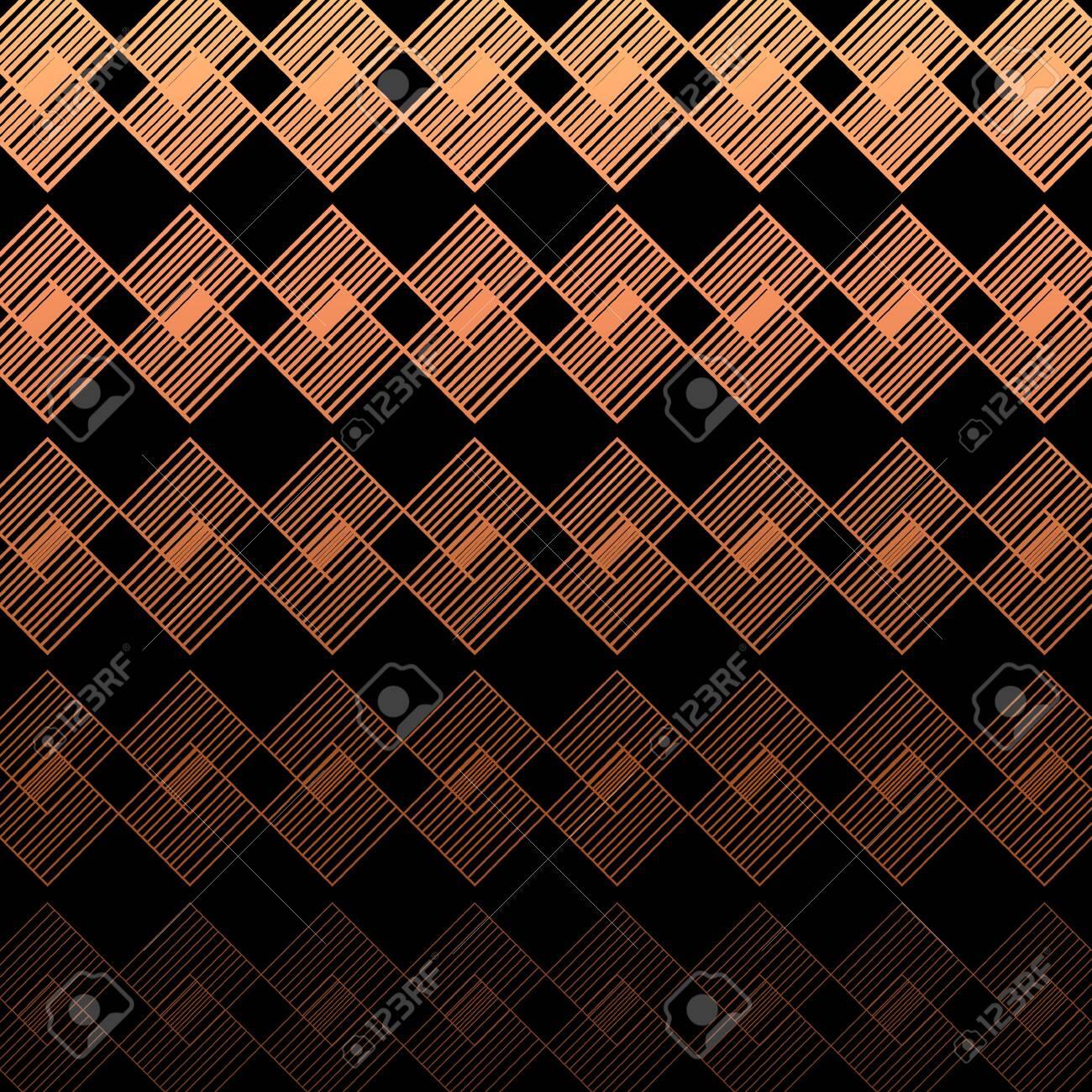 Modern Linear Geometric Pattern. Glowing Background. Linear Gradient - 153129688