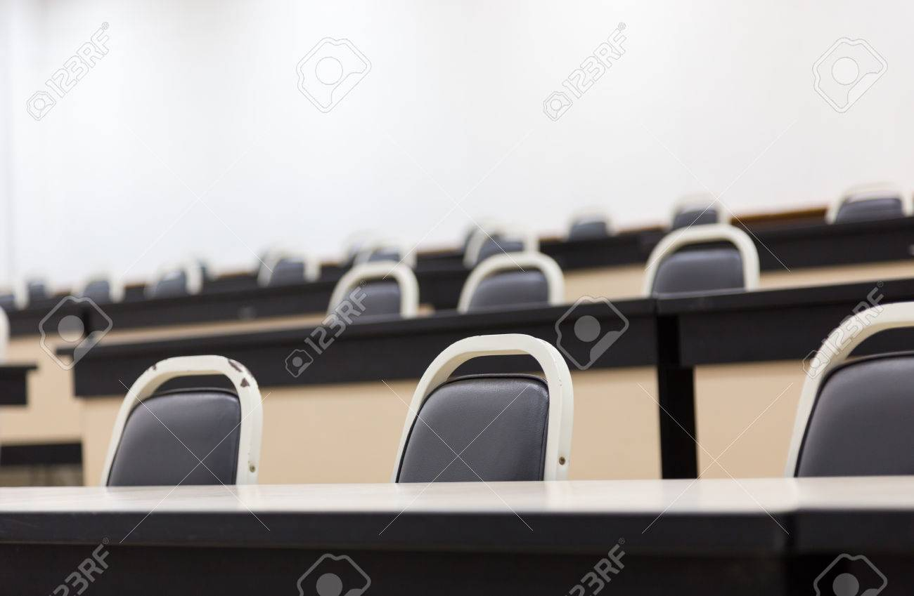 Enjoyable A Lot Of Chair And Desk In Lecture Room Pdpeps Interior Chair Design Pdpepsorg