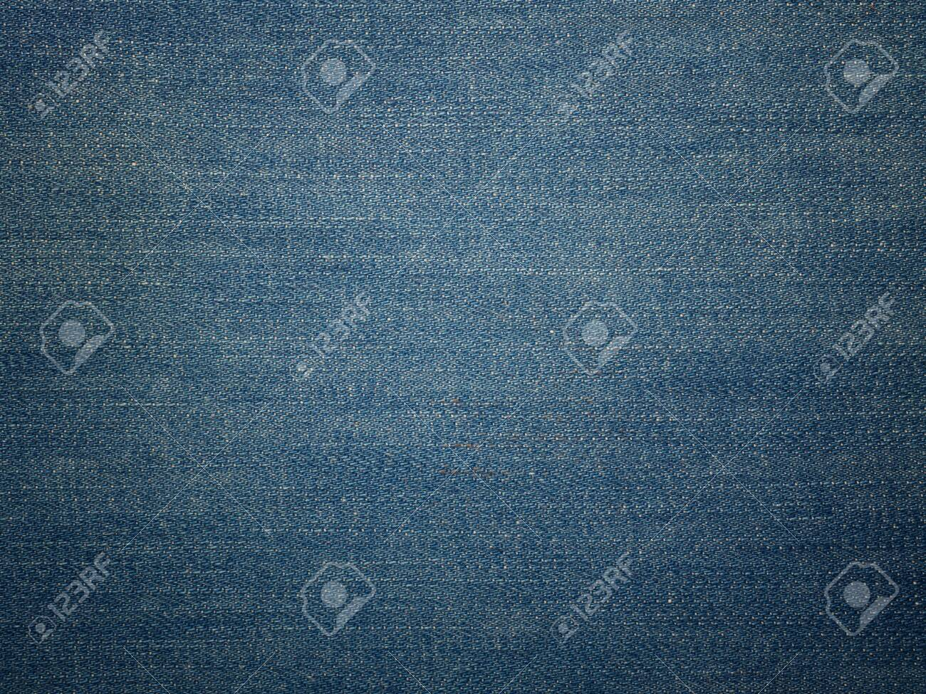 background of blue jeans denim texture. (Used for background image , Or design work) - 136967605