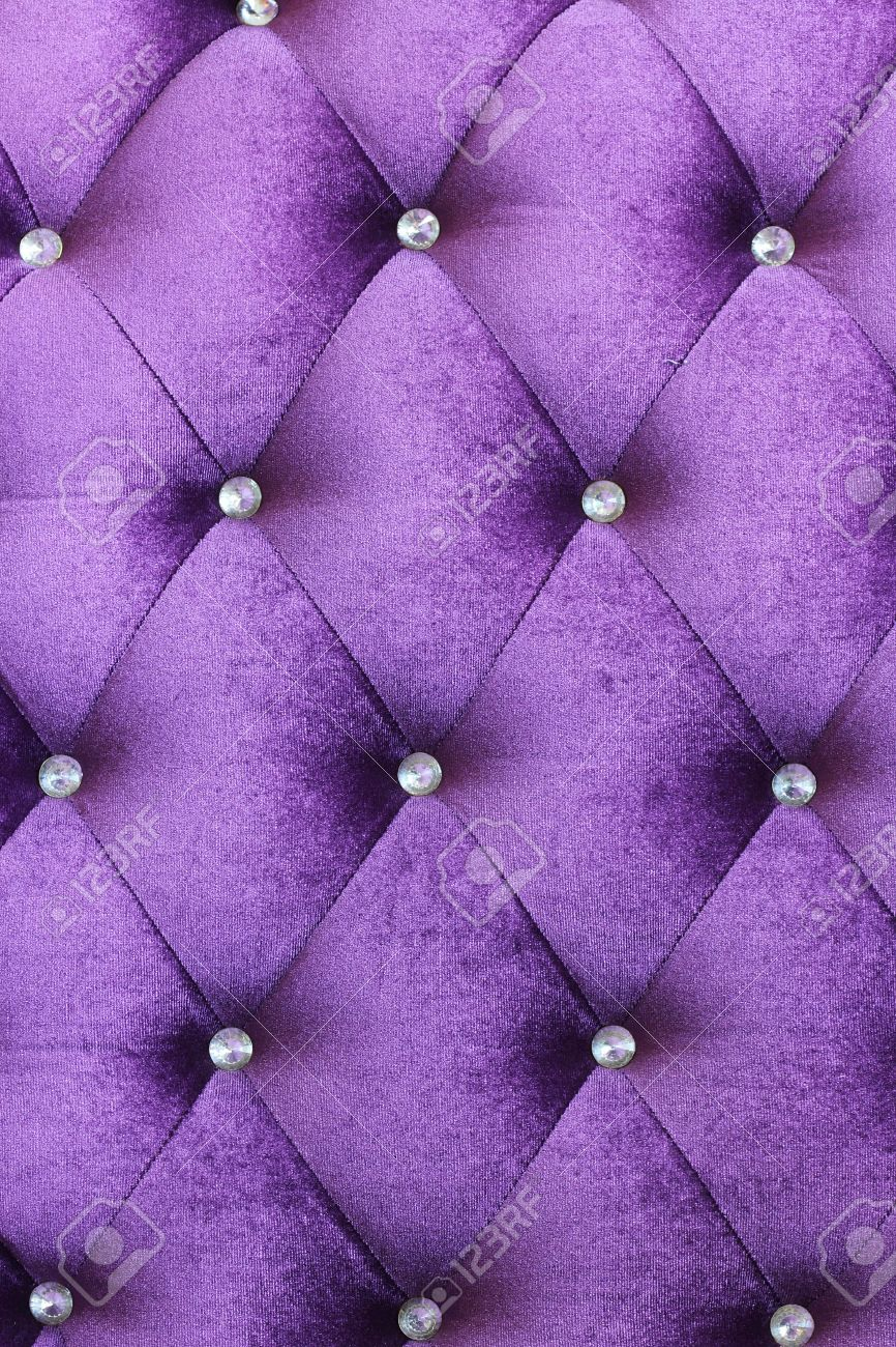 Purple velvet cushion is beautiful backdrop Stock Photo - 21522239