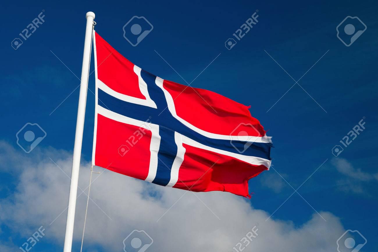 norwegian flag - 24670170
