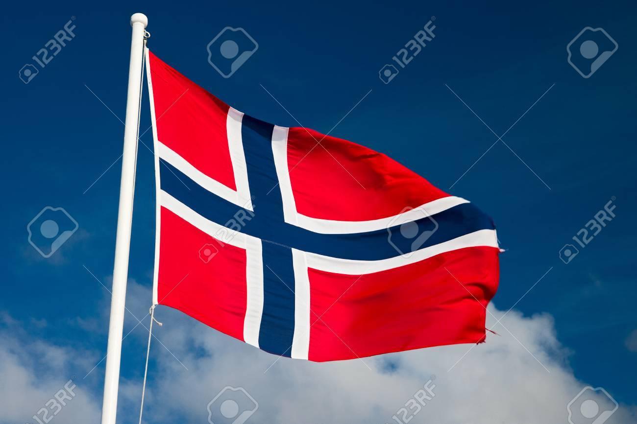 norwegian flag - 24745128