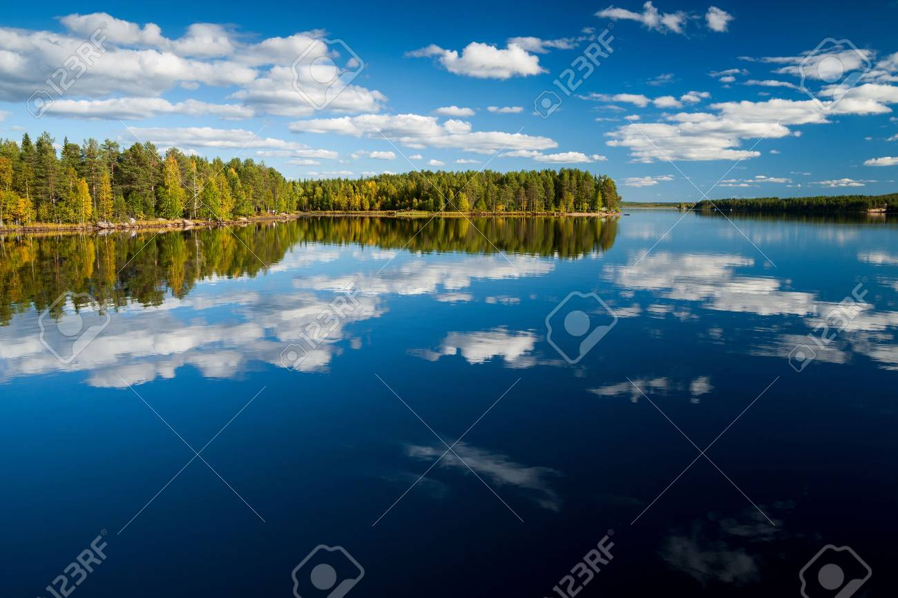 indian summer in finland - 34051740