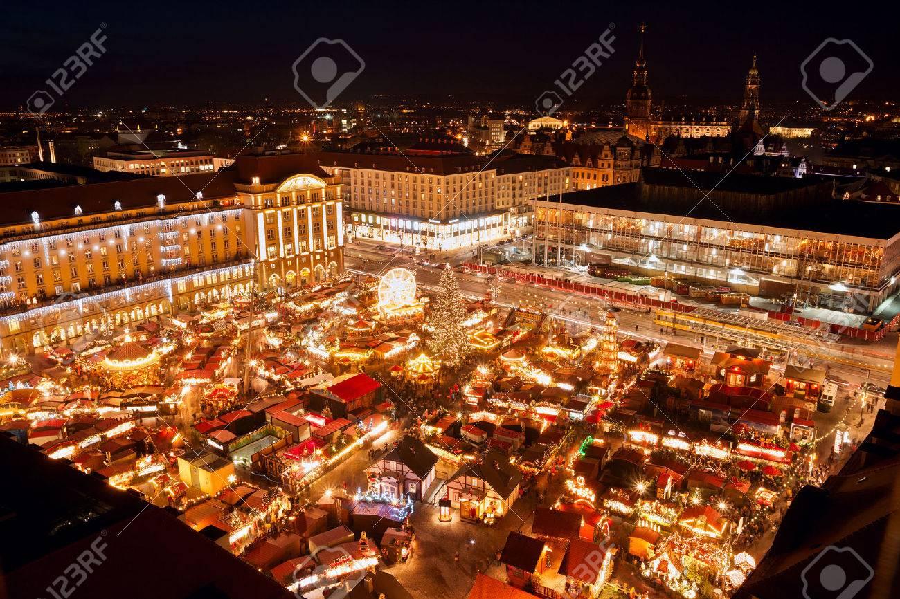 ドレスデンのクリスマス マーケット