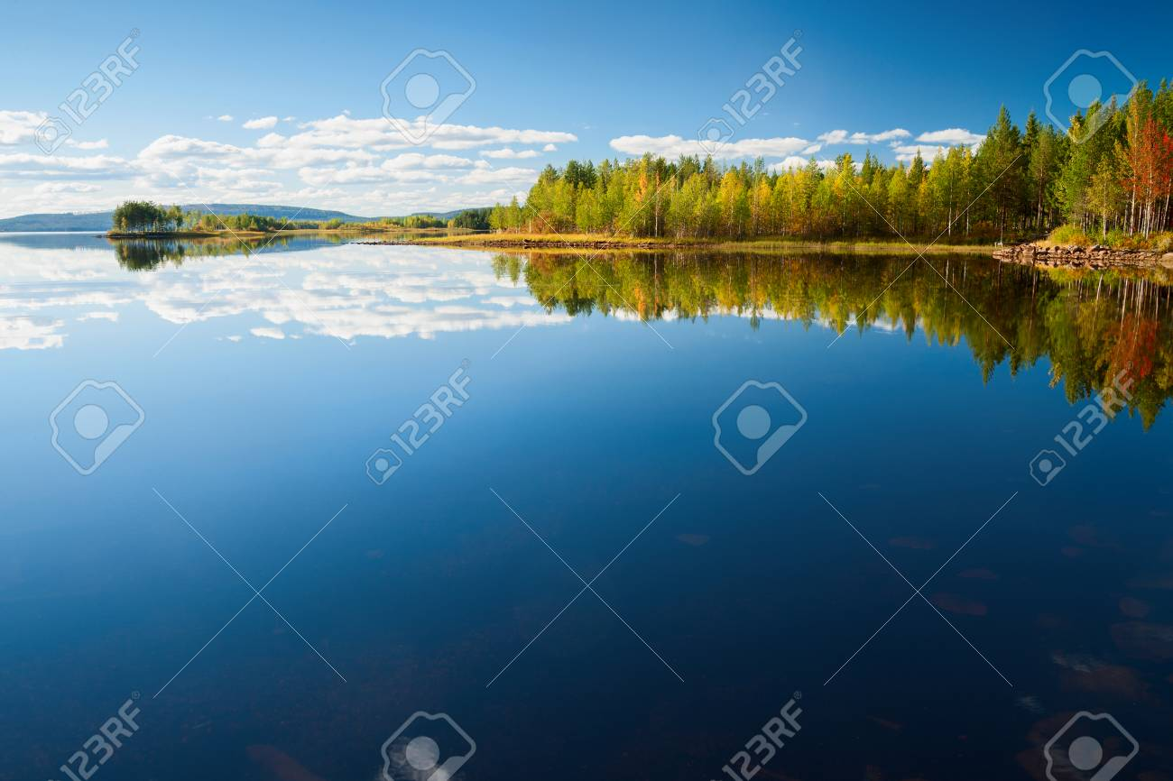 indian summer in finland - 46638849