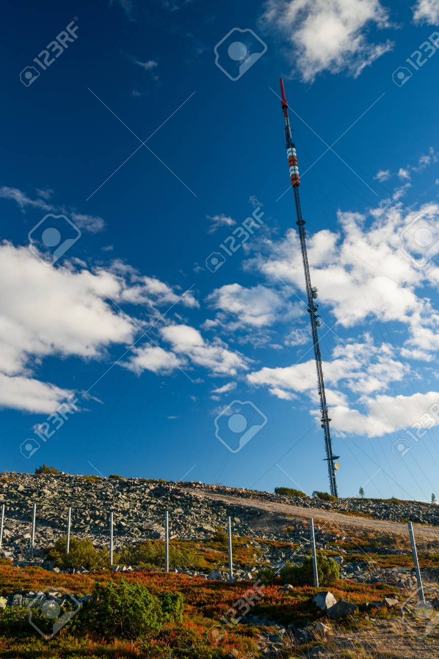 antenna mast in finnland