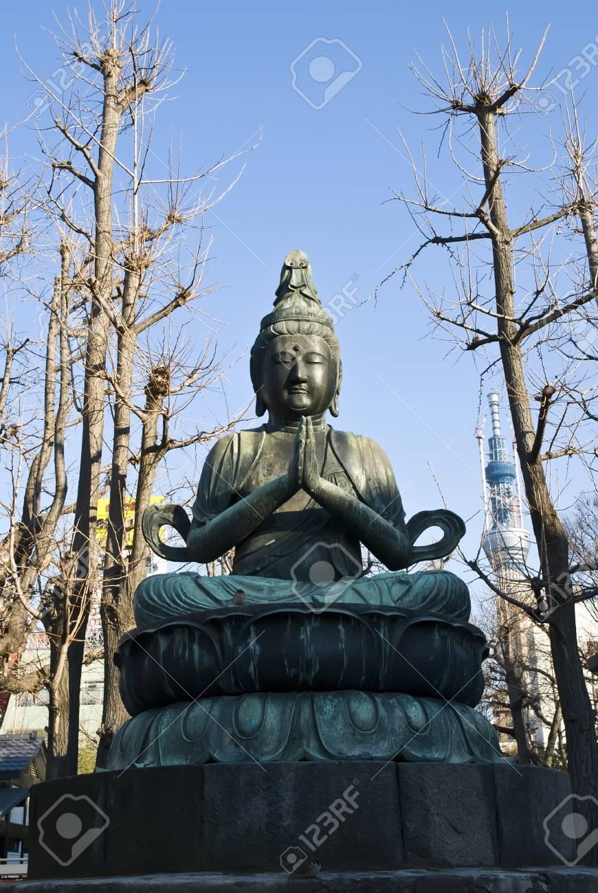 buddha statue in Japan Stock Photo - 8930707