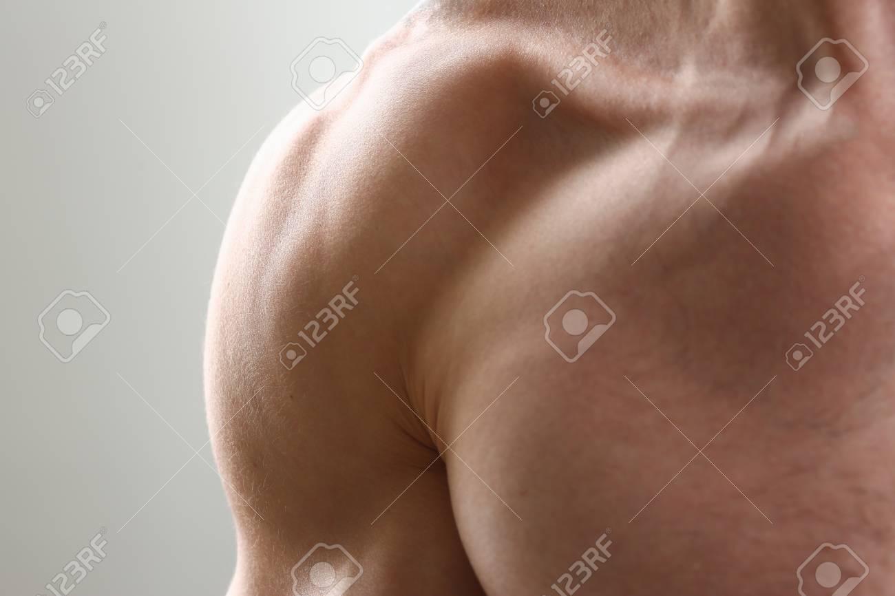 Fitness Hombre Fondo Hombros Bíceps Músculos Pectorales Culturista ...