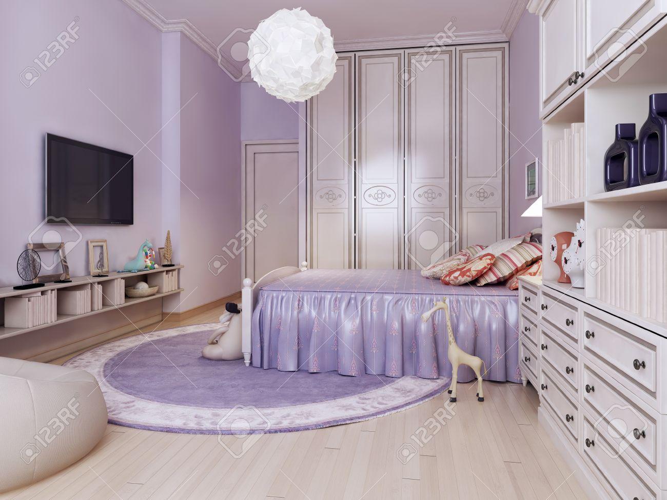 Idee Helles Schlafzimmer Für Mädchen. Inspiration Für Eine Schöne, Moderne Mädchen  Schlafzimmer Kinder Mit