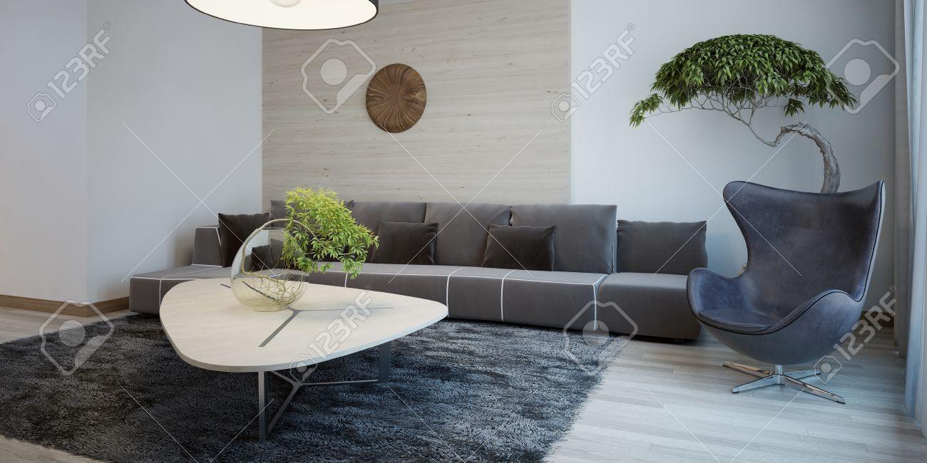 wohnzimmer ansprechend retro sessel in modernem roomido szenisch ... - Sessel Wohnzimmer Design
