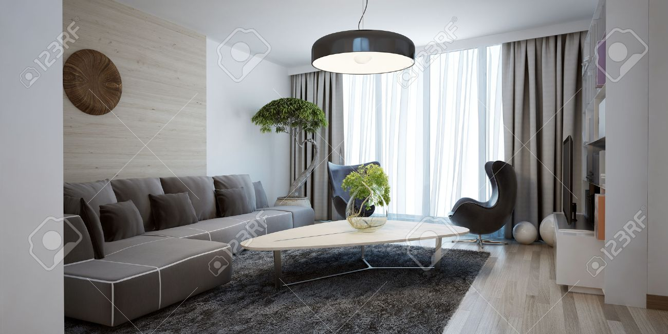 bright spacious design of modern lounge the minimalist interior  - bright spacious design of modern lounge the minimalist interior is abeautiful spacious living room