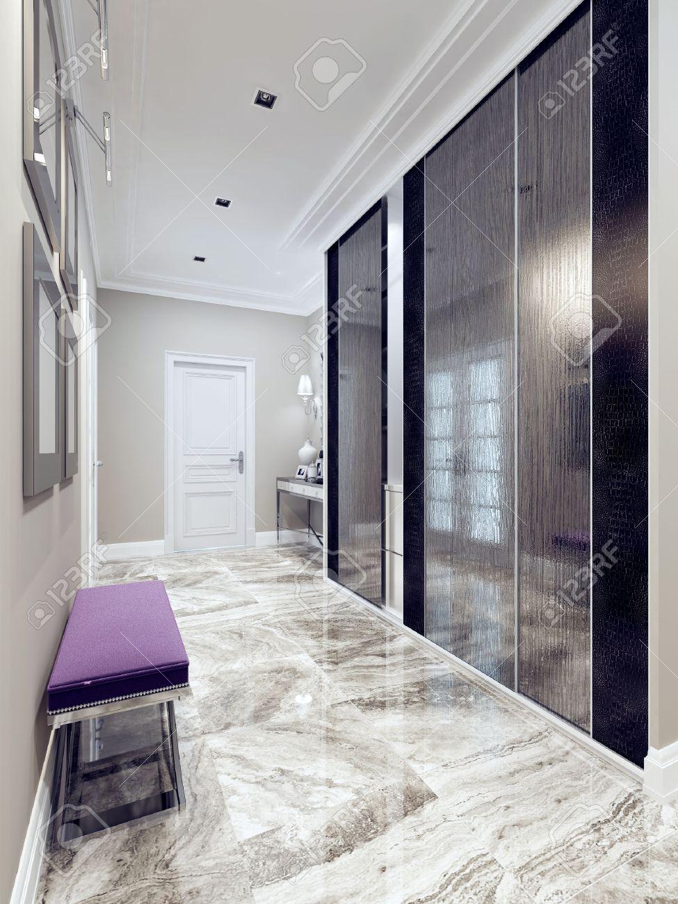 Hall D\'entrée De Style Moderne. Inspiration Pour Une Entrée De ...