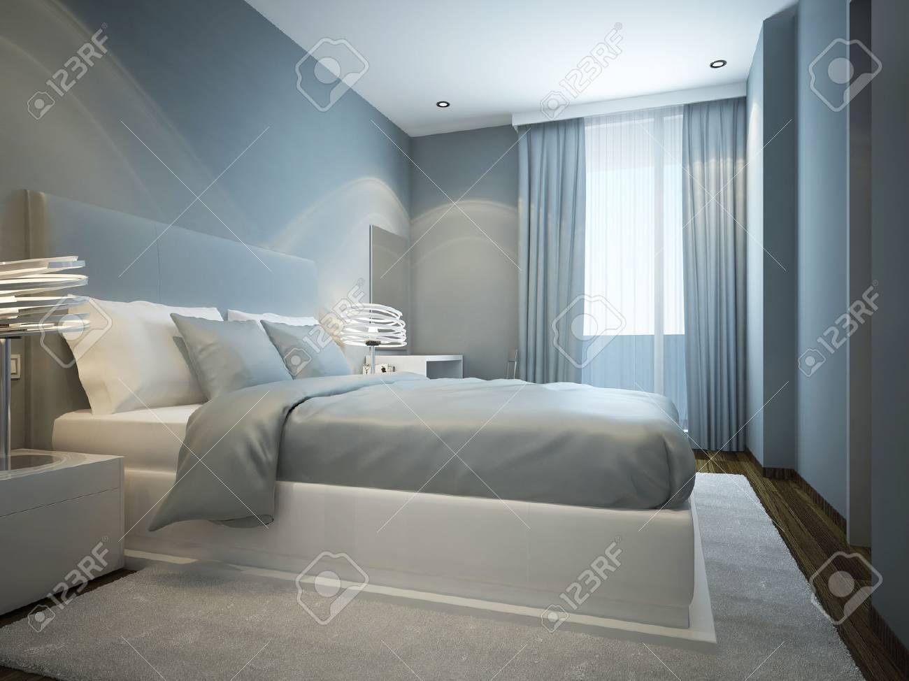 Idée De Chambre Scandinave. 3D Render Banque D\'Images Et Photos ...