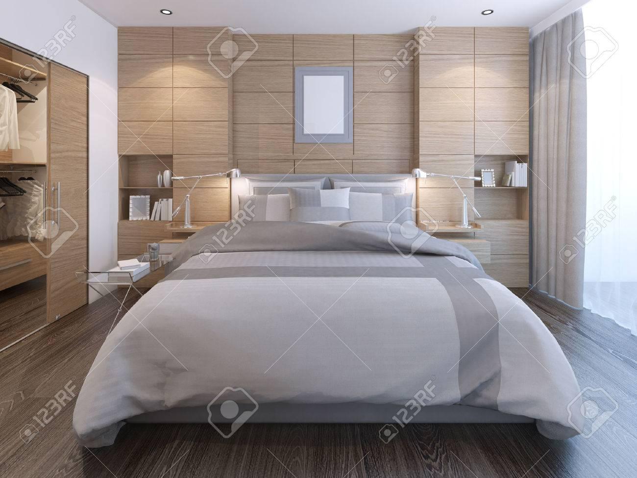 decorare pareti camera da letto. camera da letto elegante con la ... - Arredare Parete Camera Da Letto