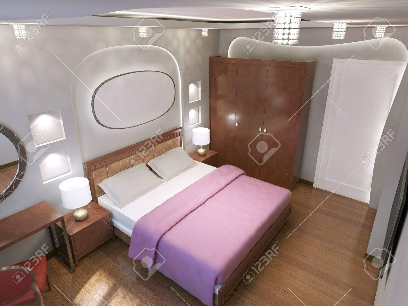 Eclectic Schlafzimmer Trend Der Haupt Kontrast Zwischen Weissen Und