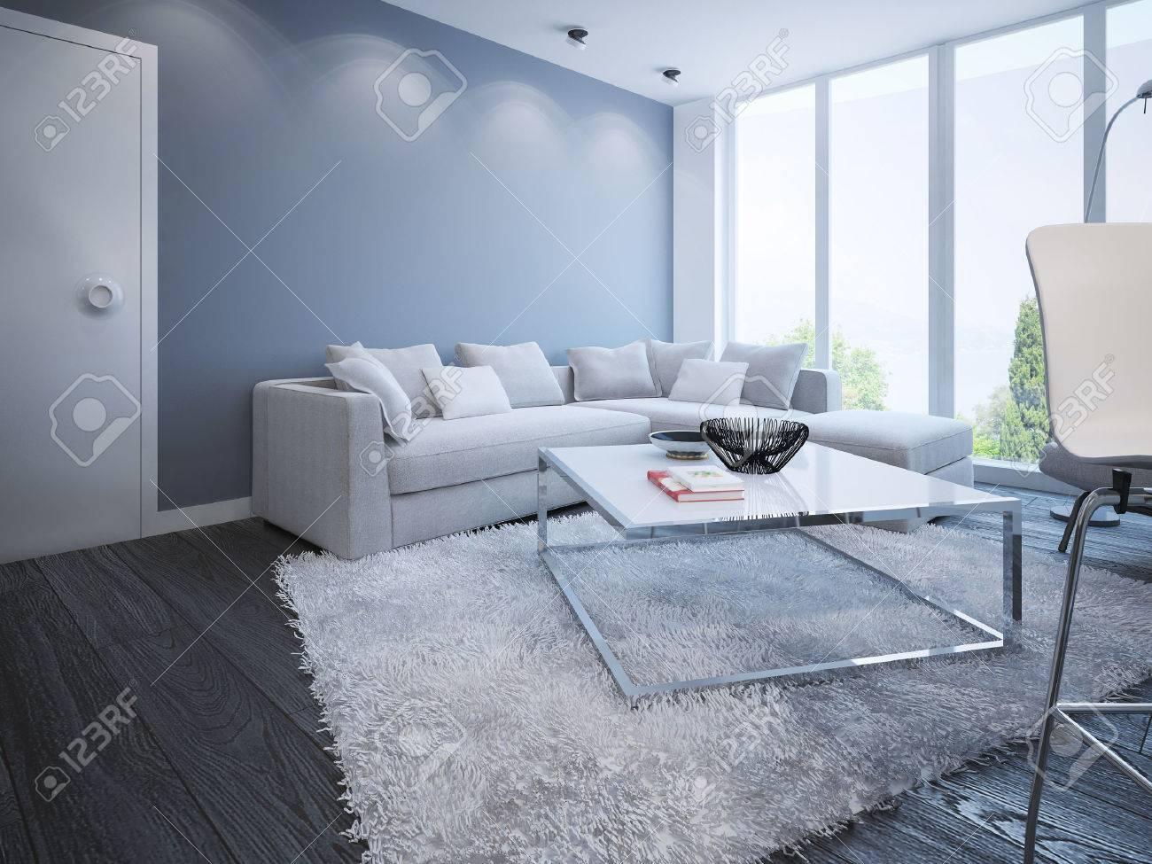 Stilvoll Wohnung Braun ~ Wohnzimmer skandinavisches design stilvolle wohnung mit