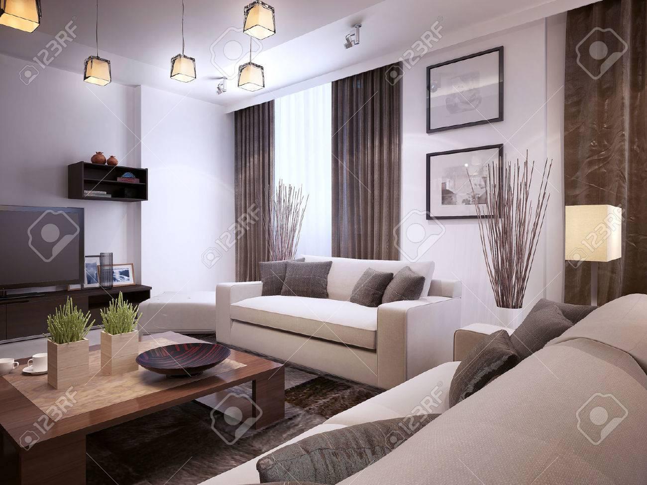 Download Wohnzimmer Im Modernen Stil | Vitaplaza, Wohnzimmer Dekoo