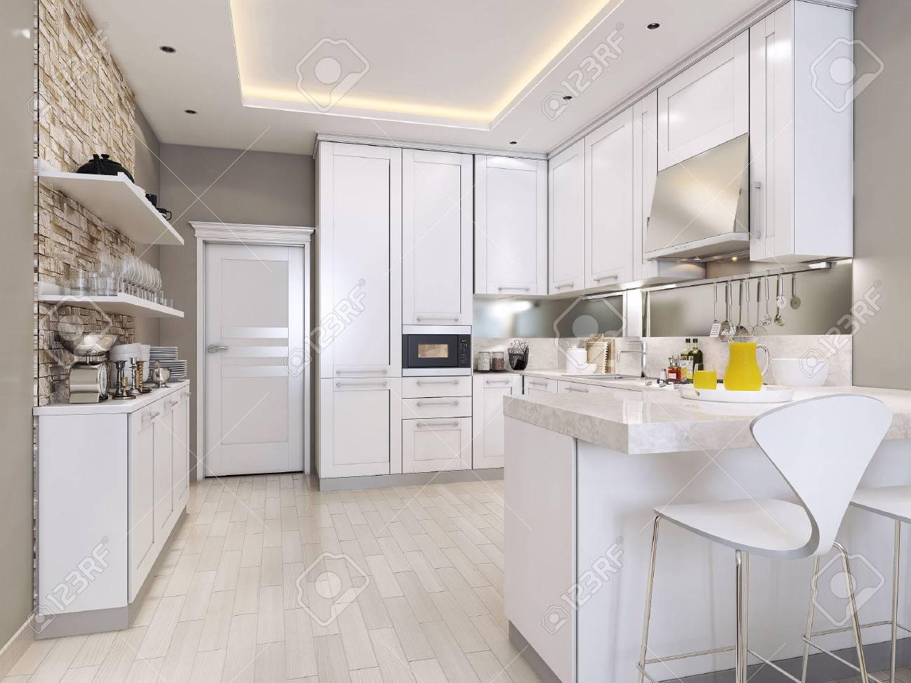 Küche Modern Stil, 3D-Bilder Lizenzfreie Fotos, Bilder Und Stock ...