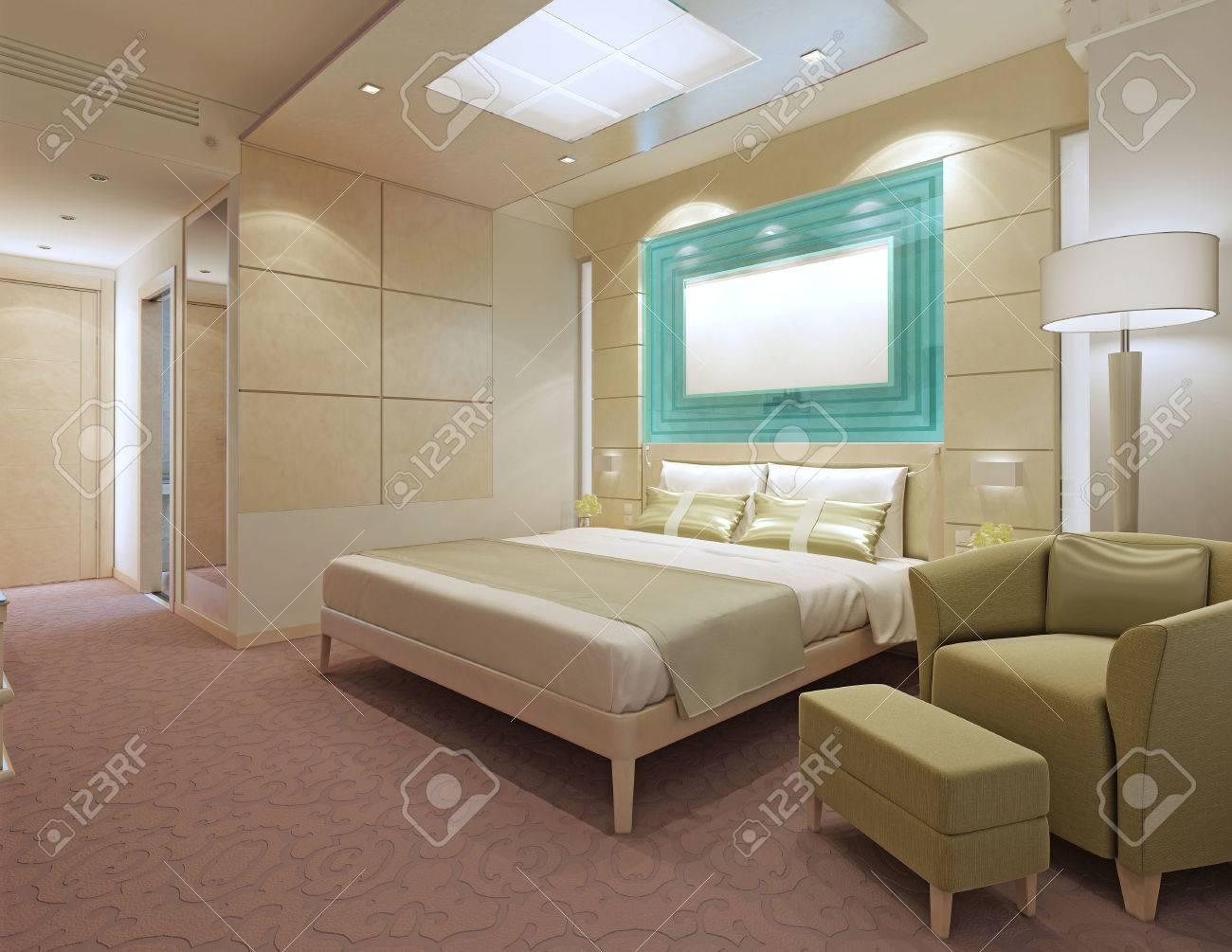 contemporary hotel apartments peach color in interior ikea stock