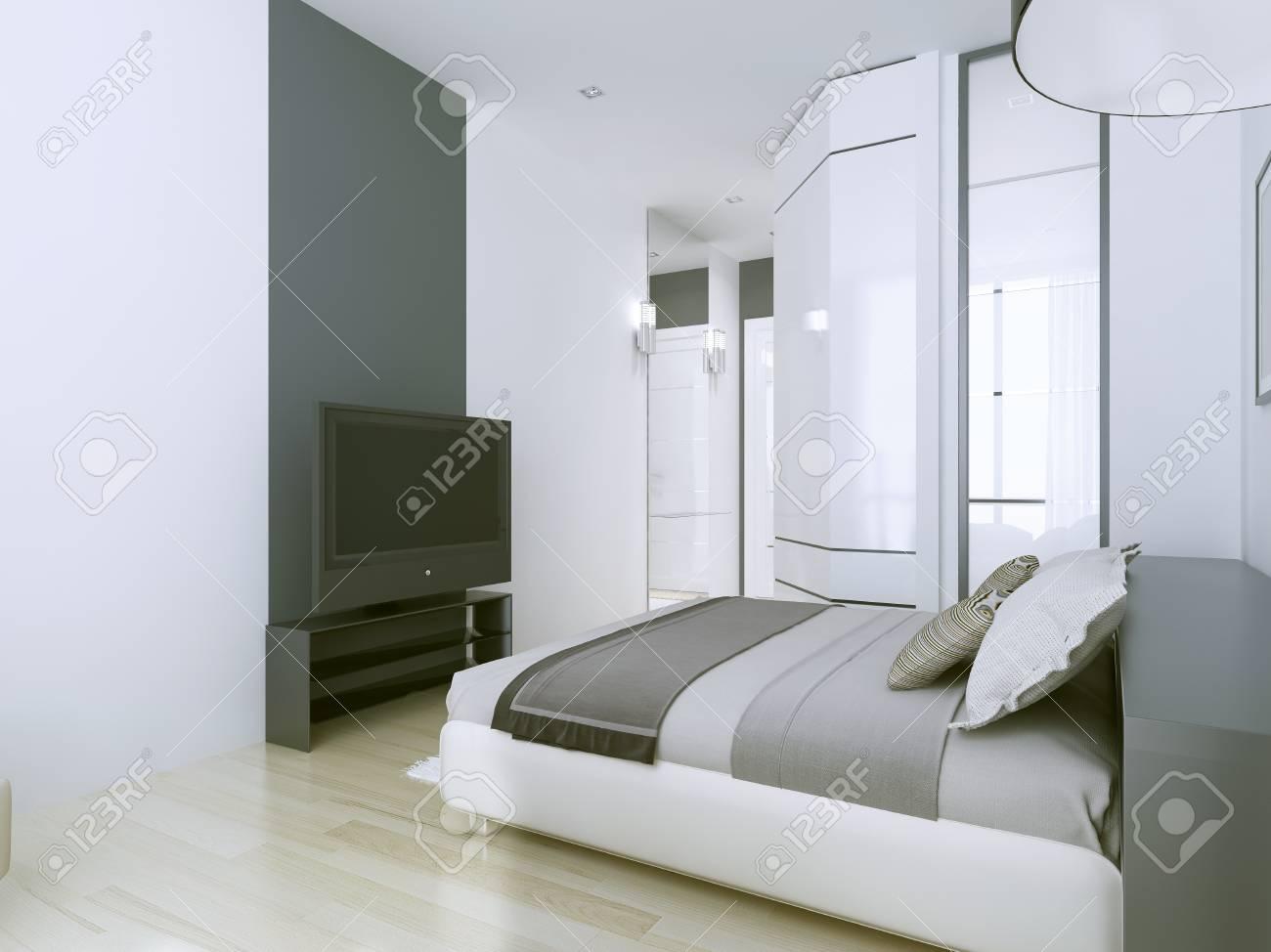 Légants Appartements 3 étoiles En Blanc Intérieur Blanc Et Gris