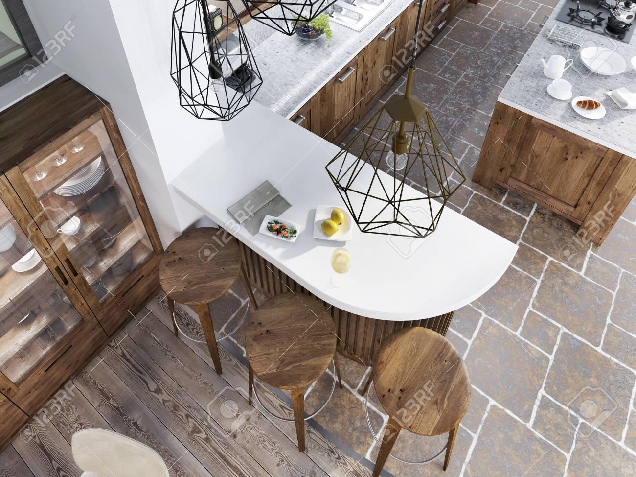 カウンター キッチン 椅子