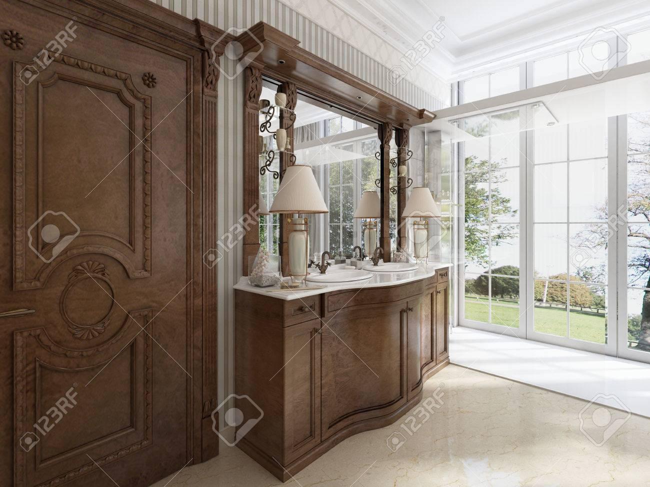 Mobili Di Lusso Moderni : Immagini stock mobili neoclassico di lusso in stile moderno in