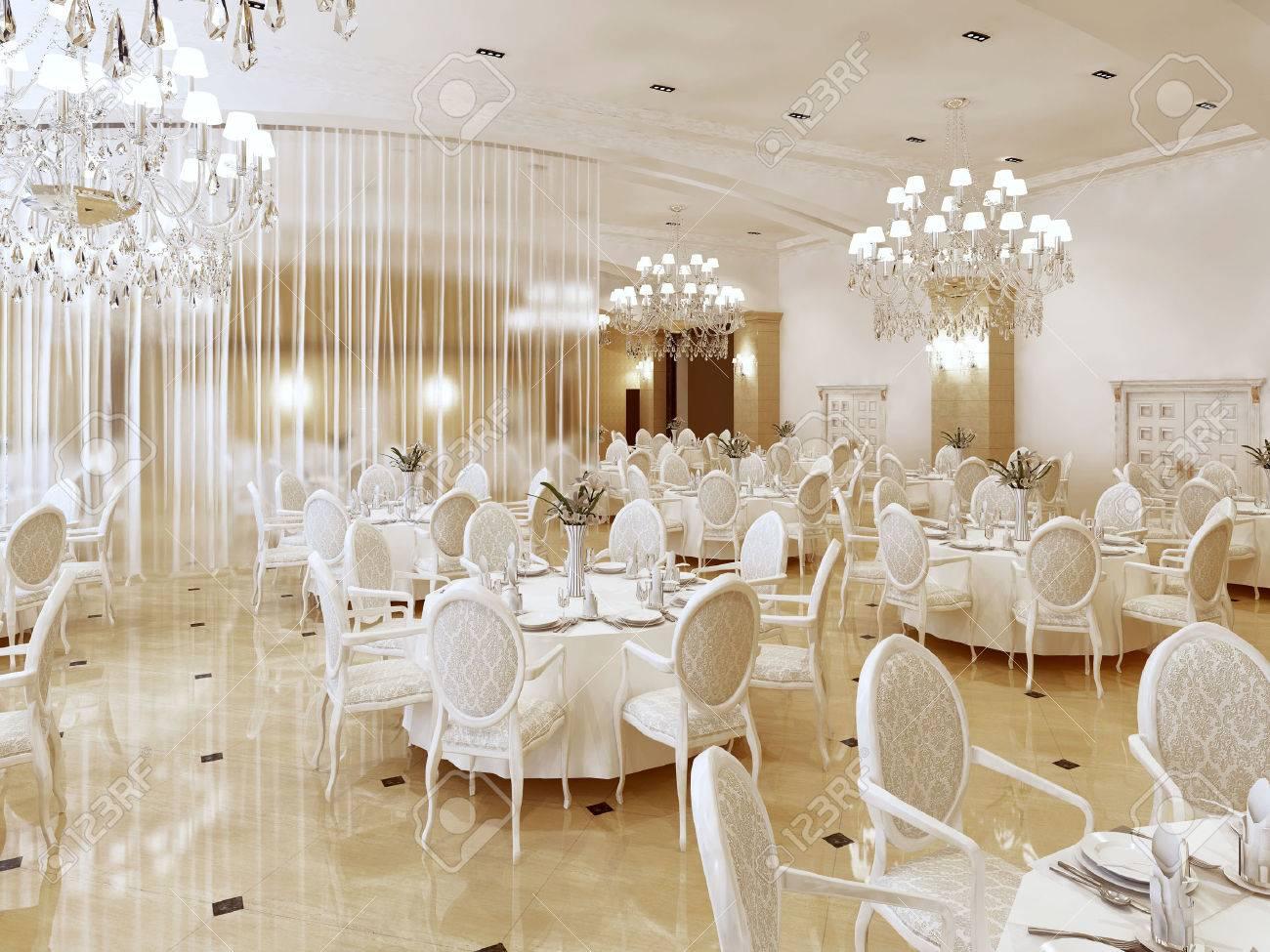 Hotel Di Lusso Interni : Immagini stock a grand ristorante e una sala da ballo in un hotel