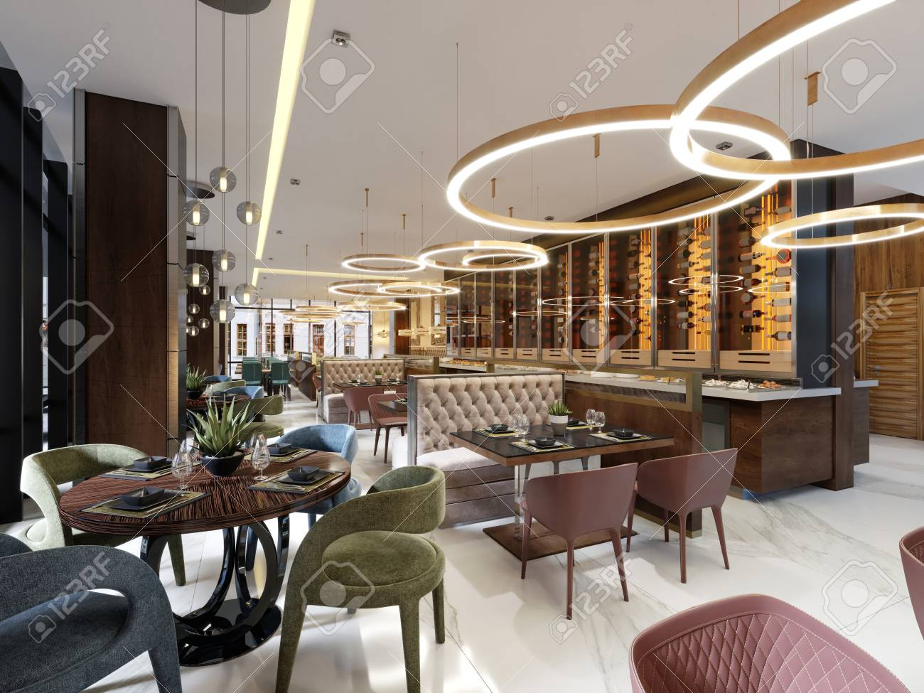 Cool Luxury Restaurant In Contemporary Style With Exquisite Modern Forskolin Free Trial Chair Design Images Forskolin Free Trialorg