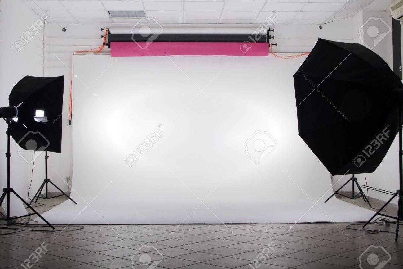 The studio Stock Photo - 11114950