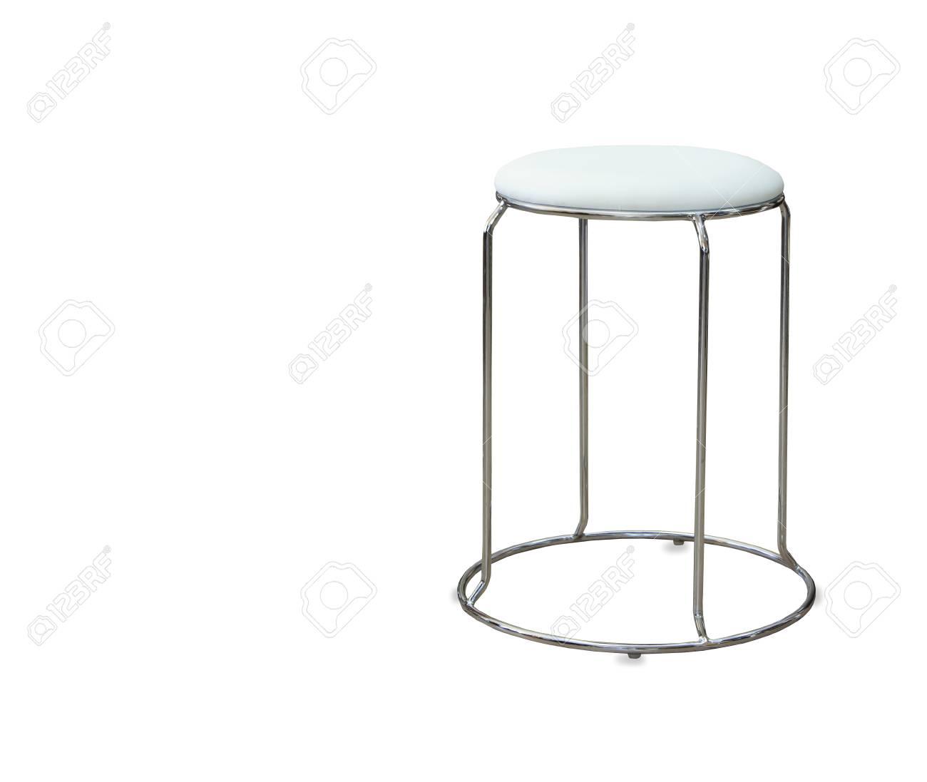 Chaise de cuisine moderne isolée sur fond blanc