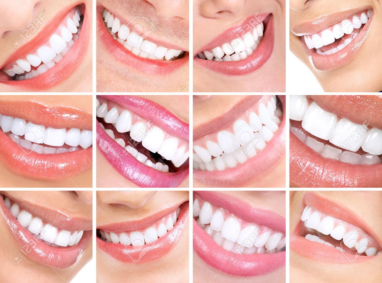 Beautiful young woman teeth. Close up Stock Photo - 5604168