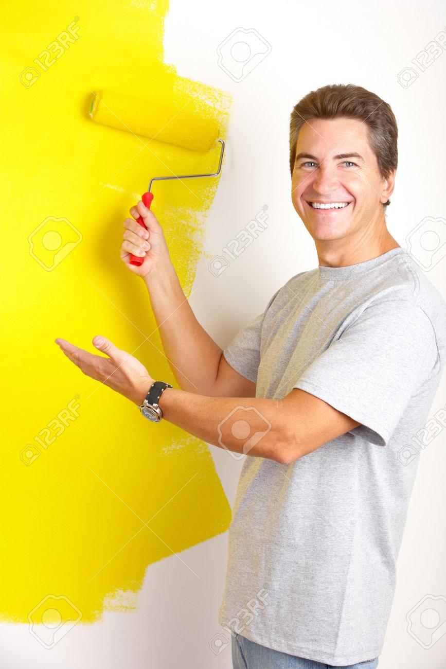 man painting Gallery