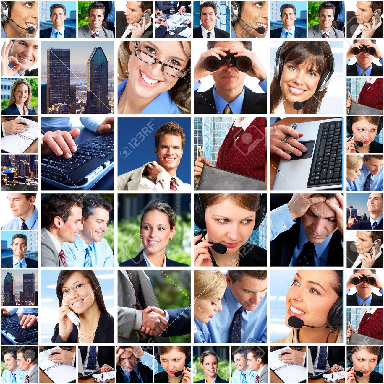 Business people. Business team. Teamwork Stock Photo - 6424272