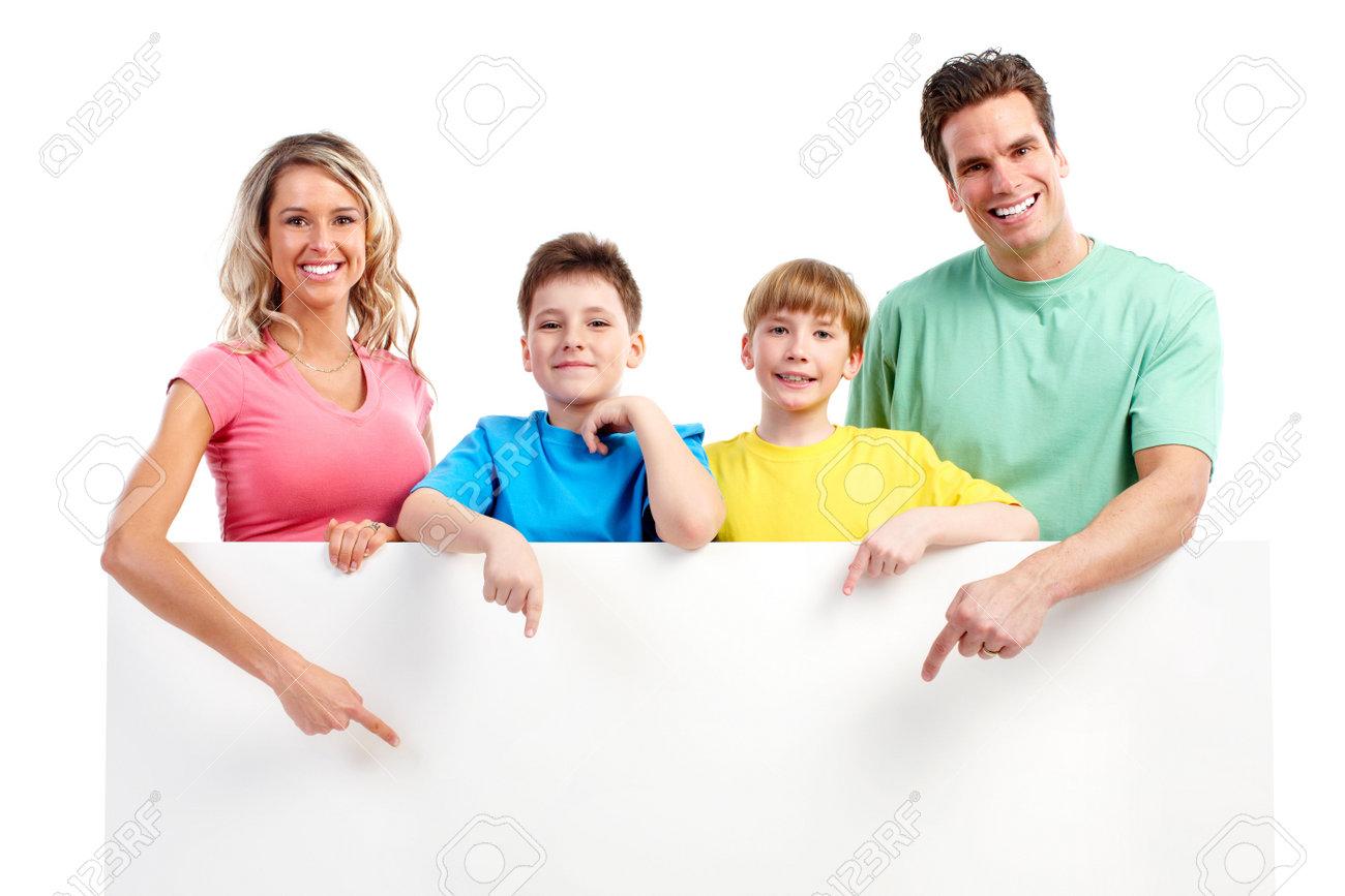 Fondo familia feliz