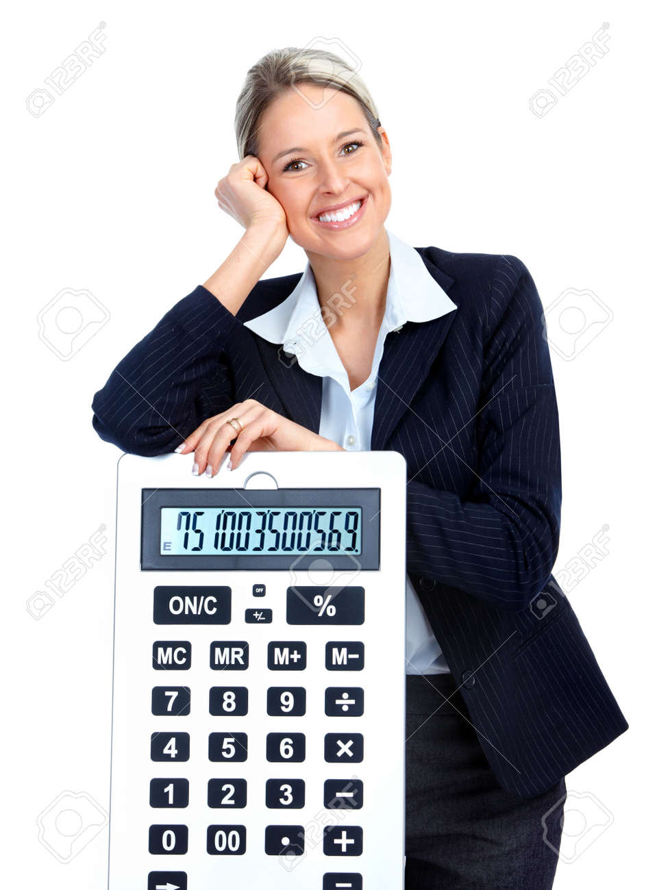 Business woman Stock Photo - 9050931