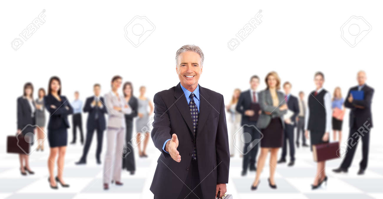 Business people team. Stock Photo - 9109393